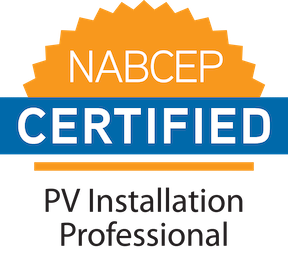 NABBCEP Certified, PV Installation Professional